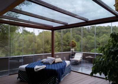 Exteriorismo diseño galería terraza