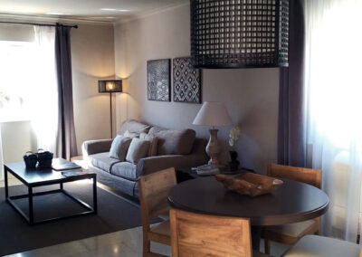 Interiorismo salón moderno Cartagena