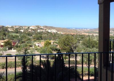 Paisaje vista mar La Manga Club Murcia