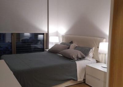 Habitación de matrimonio decoración en Madrid
