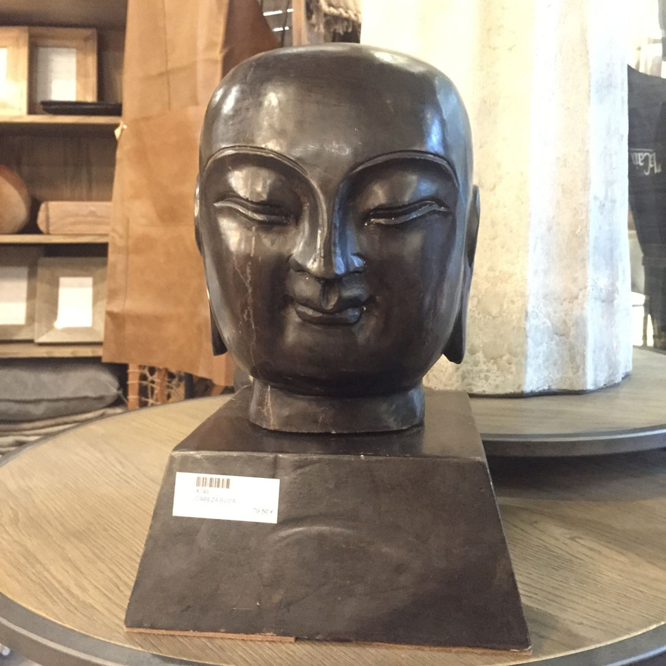 Cabeza Buda en Hierro