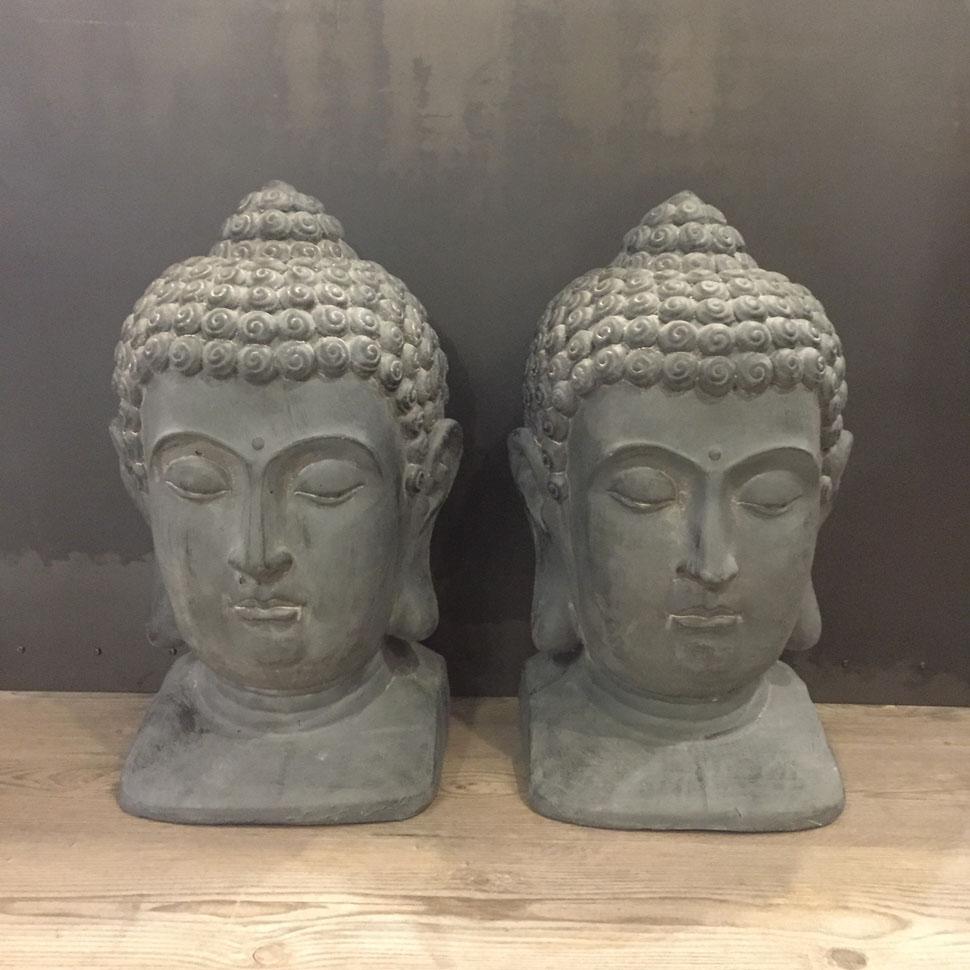 Decoración para Jardín – Cabezas de Buda