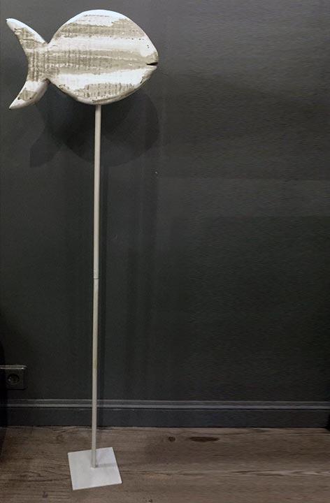 Pedestal hierro lacado