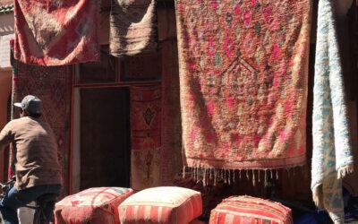 Las alfombras de Marruecos inspiran la decoración de este otoño
