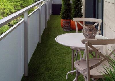 Terraza jardín urbano
