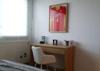 Detalle habitación: escritorio
