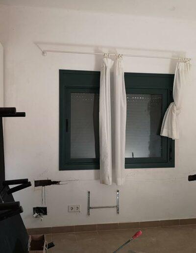 Vista de la vivienda antes de las reformas de decoración