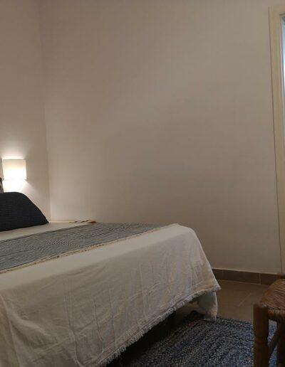 Vista del dormitorio tras la reforma
