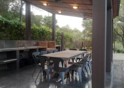 Reforma porche y exteriores en Cala Romana, Tarragona