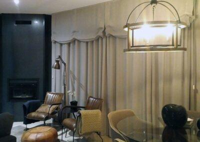 Cambrils, interiorismo en salón y cocina