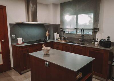 Cocina en casa pareada de Salou