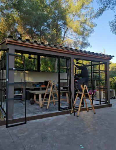 Estudio de Arquitectura: Invernadero en Cala Romana.
