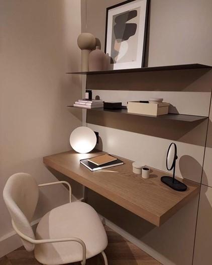 escritorio en una oficina en casa